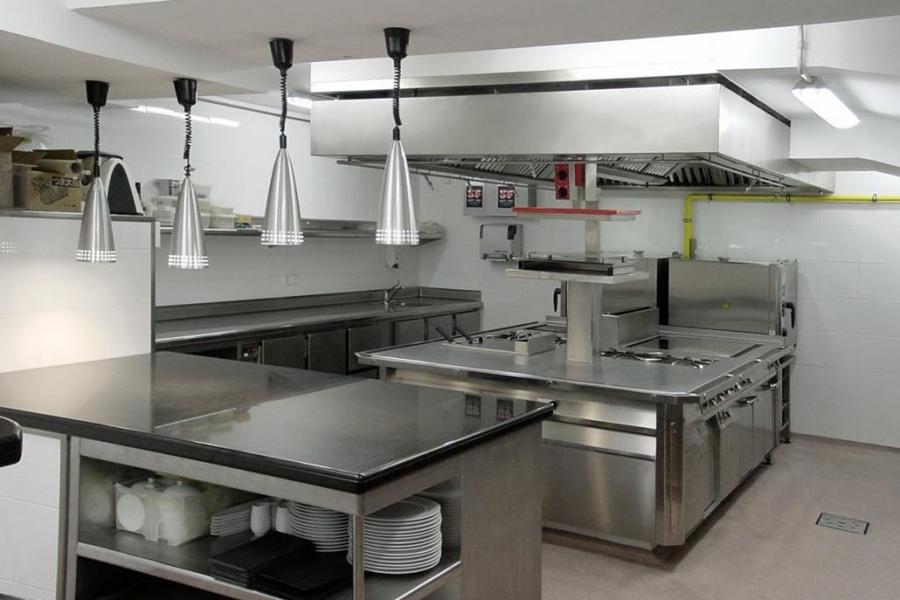 Mobiliario de cocina industrial estanteras para cocinas - Mobiliario cocina industrial ...